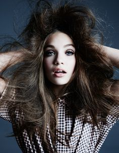 The lovely Maddie Ziegler wearing DROMe in Hunger Magazine by David Roemer