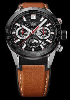 First Look: 2018 Carrera Amazing Watches, Beautiful Watches, Cool Watches, Unique Watches, Elegant Watches, Men's Watches, Dream Watches, Sport Watches, Tag Heuer Monaco