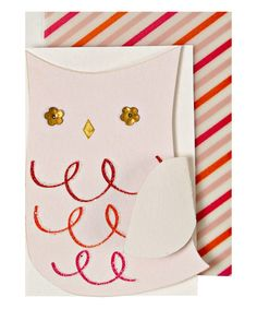 Look at this Owl Holiday Gift Enclosure Card Set on #zulily today!