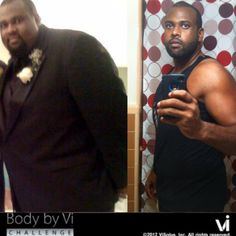 Congratulations Andrae Ames on your Body by Vi Transformation!