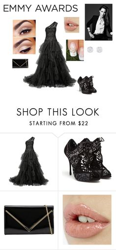 """Angelina Jolie"" by kittykatlove69 ❤ liked on Polyvore featuring Marchesa, Nicholas Kirkwood and ALDO"