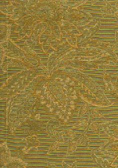 Upholstery Fabrics - Paisley - M8361 Sage 5705 By Barrow/Merrimac Fabrics
