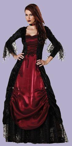vampiress halloween costume