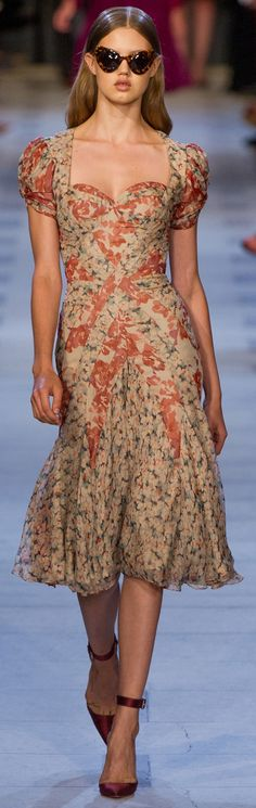 Zac Posen Spring Summer 2013 Ready-To-Wear Collection  RETRO PRETTY