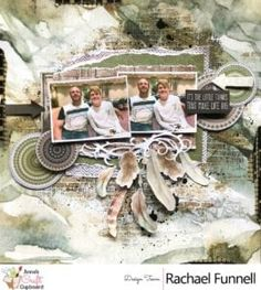 "Kaisercraft Gypsy Rose Layout ""Its the Little Things"" by Rachael Funnell. Saved from annascraft.com.au ~ Wendy Schultz ~ Scrapbook Layouts."