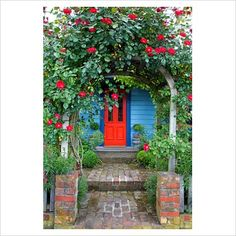 Arbors and bright colours are both ideas I'd love to play with