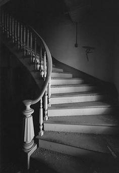 old abandon staircase