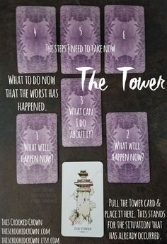 The Tower - Has the worst already happened Find what to do now! by thiscrookedcrown.com or thiscrookedcrown.etsy.com