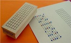 Amazon.com: The Ultimate Guitar Chord Rubber Stamp - 12 Frets: Musical Instruments