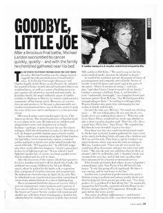 Goodbye, Little Joe : People.com