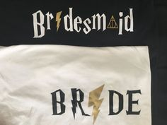 Custom HARRY P Inspired Bride Bridal Bachelorette Party shirt