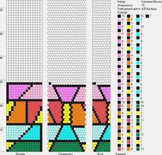 15 Bead Crochet Patterns, Bead Crochet Rope, Crochet Mandala, Peyote Patterns, Beading Patterns, Ladder Stitch, Bead Jewellery, Brick Stitch, Needlework