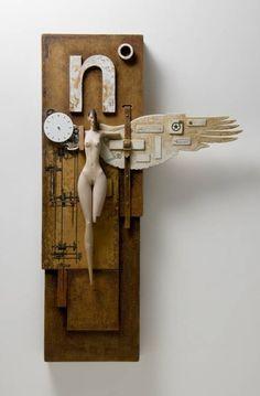 john morris artist wood sculpture - Google Search