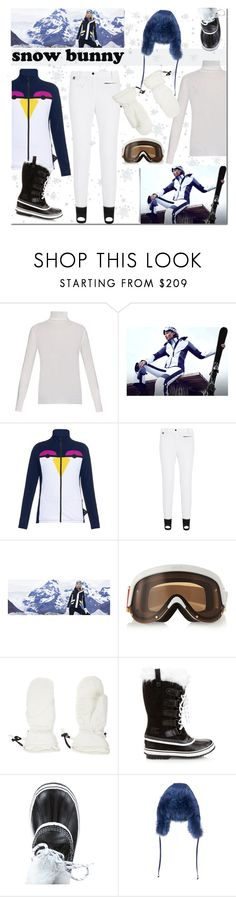 """""""Winter Fun:  Snow Bunny Style"""" by margaretferreira on Polyvore featuring Fendi, YNIQ, Christian Lacroix, skistyle, winterstyle and snowbunny"""