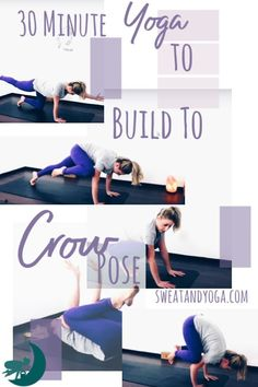 Yoga Poses & Workout : Pin now and do this crow pose yoga video later! 30 minutes to open your hips and strengthen your beginner arm balance Bikram Yoga, Ashtanga Yoga, Yoga Sequences, Yoga Poses, Weight Loss Motivation, Weight Loss Tips, Health And Fitness Tips, Fitness Blogs, Health Tips