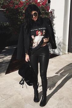 347457fb7d3 Kylie Jenner wearing Ann Demeulemeester Double-Zip Ankle Boots