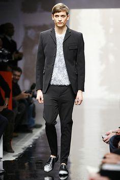 Look 1 Prada Fall 2007 Menswear