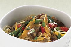 Italian dressing adds zesty flavour to this Asian-style stir-fry.