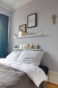 Wnętrza Zewnętrza - blog wnętrzarski: Sypialnia: pościel, lustra i stara szafa