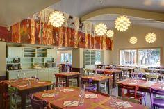 La Tavernetta Sull'Aia restaurant by CpiuA Ceccarelli Associati, Monterado - Italy