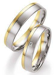 bicolor gouden trouwringen aanbieding