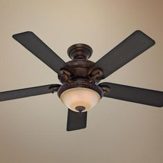 """52"""" Hunter Vernazza Brushed Cocoa Ceiling Fan -"""