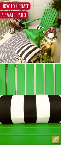 ... green color to complement the bold geometrics and hints of metallic
