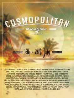 BRAND NEW COSMOPOLITAN ROUND IS HERE! \o/ You have two weeks to come on in, browse around and snap them all up before the round changes again on July 29th! Find all info @ http://cosmopolitansl.blogspot.com/2018/07/cosmopolitan-round-27-16th-28th-july.html Or just come @ http://maps.secondlife.com/secondlife/No%20Comment/131/61/22  Enjoy !