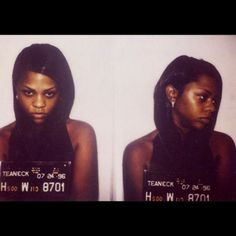 Lil' Kim before her face mishaps