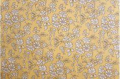 Liberty - Tana Lawn - Capel in Yellow
