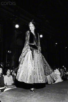 L\u0026#39;officiel 1976 in Moscow, Yves Saint Laurent Rive Gauche velvet ...