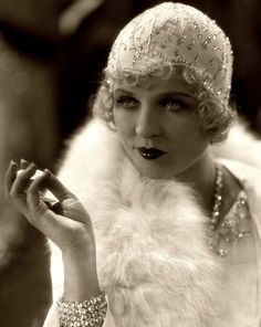 Phyllis Haver 1928.The 20's and Prohibition gave rise to the flapper girl and the speak easy and Jazz. The Roaring twenties culminated in the stock market crash of Oct 29 1929 named Black Friday.