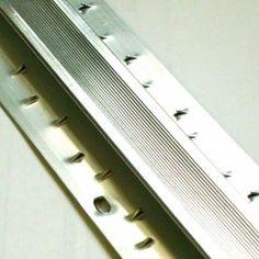 Allfloors Aluminium silver coloured double door bar carpet fitting accessory