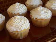 Low Carb Coconut Flour Cupcakes - 1/4 c. coconut flour, coconut, 3 eggs, makes 6 cupcakes