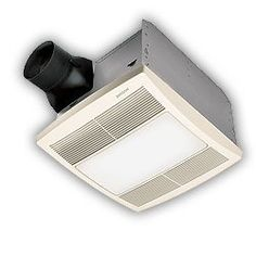 Broan-Nutone QTRE080FLT Ultra Silent Bathroom Fan / Light / Night-Light *** See this great product.