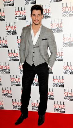 LONDON, UNITED KINGDOM - FEBRUARY 22: David Gandy attends the ELLE Style Awards 2010 at Grand Connaught Rooms on February 22, 2010 in London, England. (Photo by Nick Harvey/WireImage) 2010 Nick Harvey