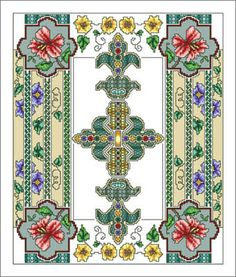Cross Stitch Craze: Celtic Cross Stitch Twelve A Monthly Theme - July- See all 12 beautifully themed months here.