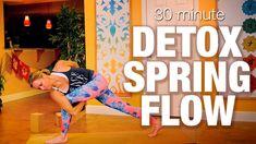 33 Minutes:   Detox Spring Flow Yoga Class - Five Parks Yoga