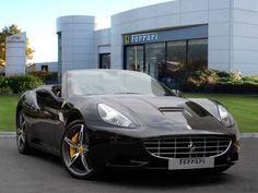 Used 2013 ( reg) Black Ferrari California for sale on RAC Cars