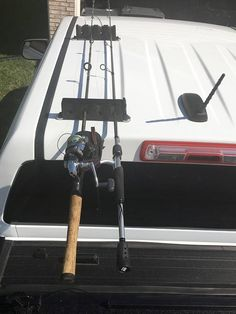 Product Specifics: - Carry up to 4-6 fishing poles (option in selection) - Secured with neodymium magnets that are rated to total 360 lbs of load capacity (4 x 90lbs each) - Marine Grade Vinyl layer prevents damage to painted metal surface This product was created out of a need to