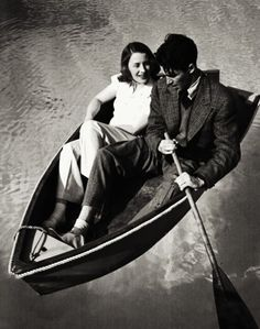 James Stewart and Norma Shearer