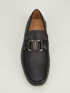 Salvatore Ferragamo Buckle Detail Loafer.