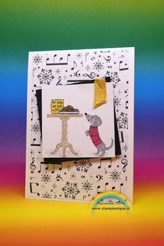 Stampin Utopia, Bestel Stampin' Up! Hier: Ready for Christmas?. Used Stampin Up! prodcuts: ready for christmas, merry music dsp, blends,