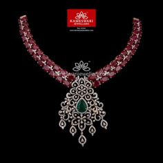 Gold Necklace for Women Online Diamond Jewelry, Gold Jewelry, Jewelery, Gold Necklace, Trendy Jewelry, Fashion Jewelry, Red Highlights, Necklace Online, Ruby Red