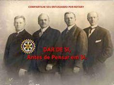 Os Fundadores do Rotary Internacional, com Paul Harris