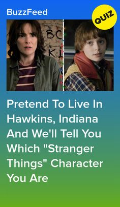 """Try To Solve A Mystery In Hawkins, Indiana And We'll Tell You Which """"Stranger Things"""" Character You Are Buzzfeed Stranger Things, Stranger Things Quiz, Best Buzzfeed Quizzes, Quizzes For Fun, Happy 16th Birthday, Netflix Tv, Will Byers, Best Shows Ever, Stupid Funny"""