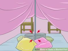 Image titled Make a Blanket Fort Step 26