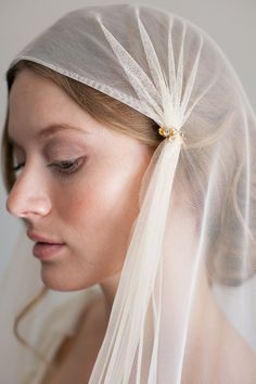 English net Juliet cap veil with rhinestone accents — Mignonne Handmade Hairdo Wedding, Wedding Veils, Bridal Veils, Wedding Dresses, Juliet Cap Veil, Mantilla Veil, Chapel Veil, Vintage Veils, Communion Dresses