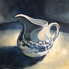 Oil on canvas - Susan Slump Venter Oil On Canvas, Milk, My Arts