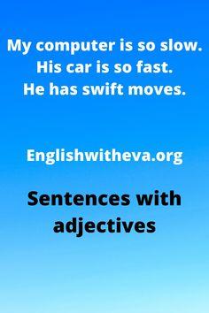 English Grammar Online, Sentences, Frases